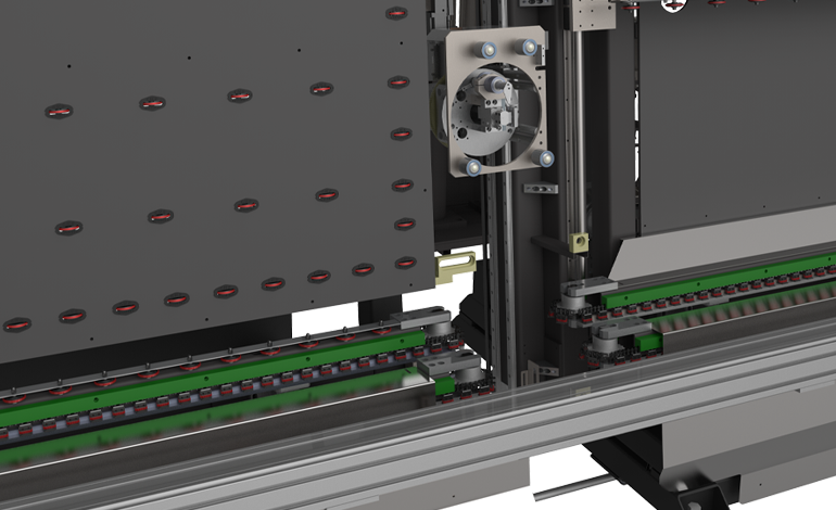 Automatic Glass Sealing Robot