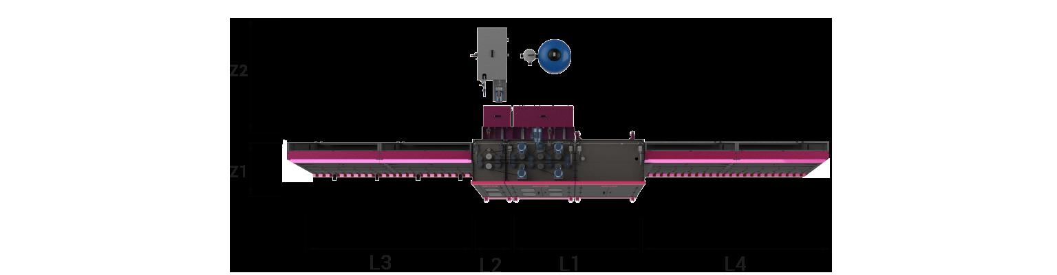 VGW-vertical-glass-washing-machine-Layout